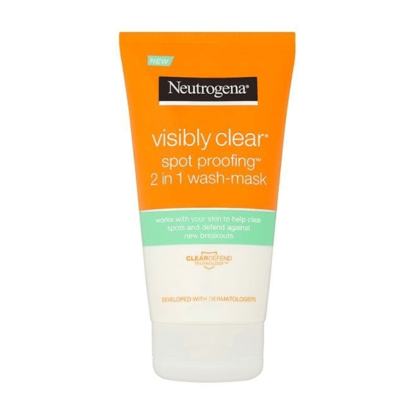 Neutrogena Visibly Clear Spot 2in1 Wash Mask 150ml in Sri Lanka