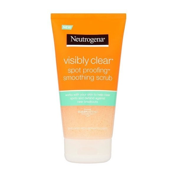 Neutrogena Visibly Clear Spot Proofing Smoothing Scrub 150ml in Sri Lanka