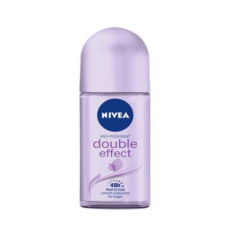 Nivea Women Double Effect Deodorant 48h Anti-Perspirant Roll On 50ml