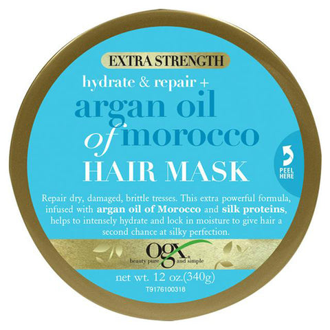 OGX Argan Oil of Morocco Hair Mask for Damaged Hair Extra Strength 168 g