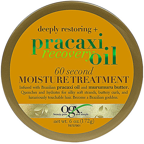 OGX Deeply Restoring + Pracaxi Recovery 60 Second Moisture Treatment Mask 172g