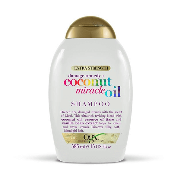OGX Extra Strength Coconut Miracle Oil Shampoo 385ml in Sri Lanka