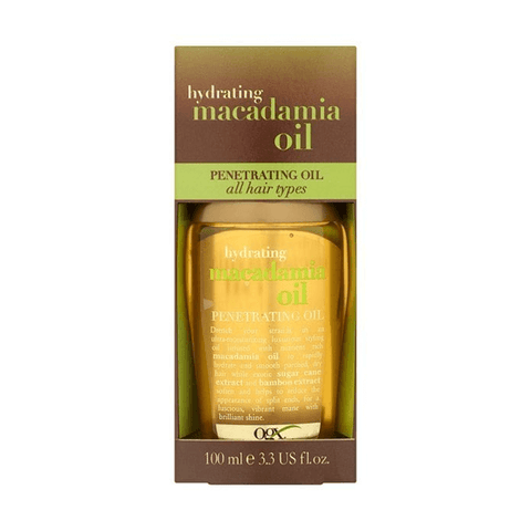 OGX Hydrating Macadamia Oil Dry Styling Oil 100ml in Sri Lanka