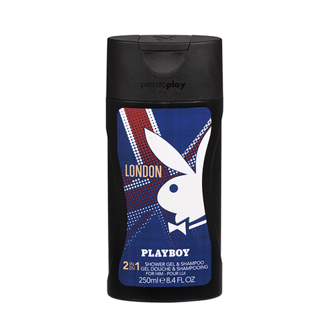 Playboy London 2 In 1 Shower Gel & Shampoo 250ml in Sri Lanka
