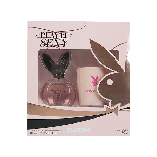Playboy Play It Sexy 2PC (EDT & Candle) Gift Set in Sri Lanka