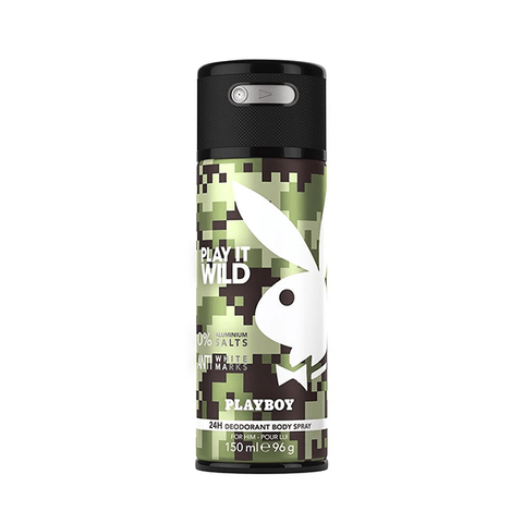 Playboy Play It Wild Deodorant Body Spray For Him 150ml in Sri Lanka