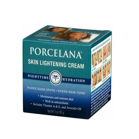 Porcelana Skin Lightening Cream Nighttime Hydration Moisturizer 80g
