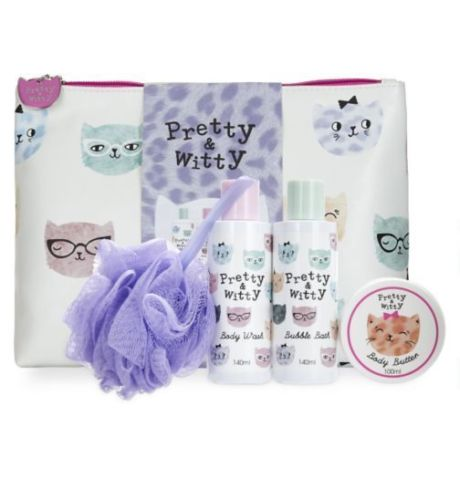 Pretty & Witty wash bag gift set in sri lanka