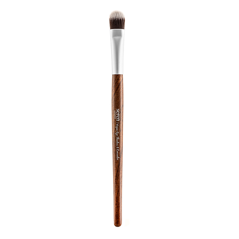 Seren London Vegan Collection Redwood Eye Shadow And Concealer Brush