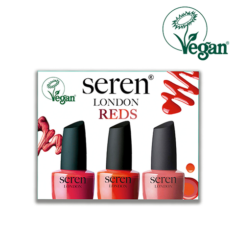 Seren London Vegan Reds Nail Polish Gift Set