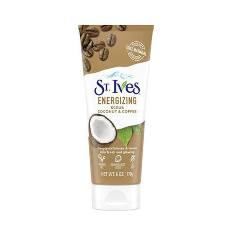 St. Ives Energizing Coconut & Coffee Scrub 170gm