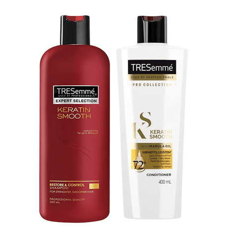 TRESemme Keratin Smooth Shampoo 500ml & Conditioner 400ml (Limited Offer!) in Sri Lanka