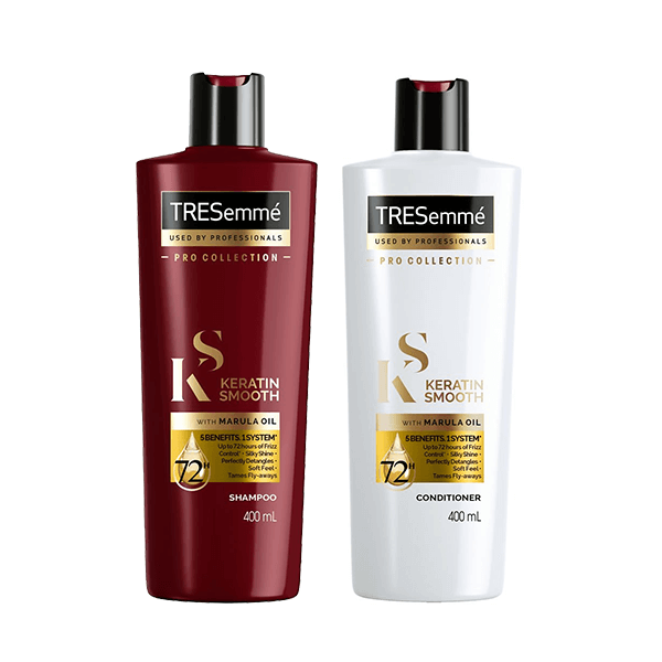 TRESemme Keratin Smooth Shampoo & Conditioner 400ml (Limited Offer!) in Sri Lanka