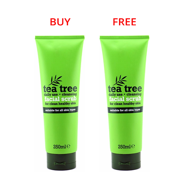 Tea Tree Daily Use Cleansing Facial Scrub 250ml (Limited Offer!) in Sri Lanka