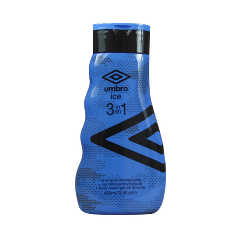 Umbro Ice 3 In 1 Shampoo, Conditioner & Body Wash 400ml in Sri Lanka