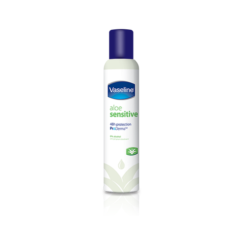 Vaseline Aloe Sensitive Anti-Perspirant Deodorant 250ml in Sri Lanka