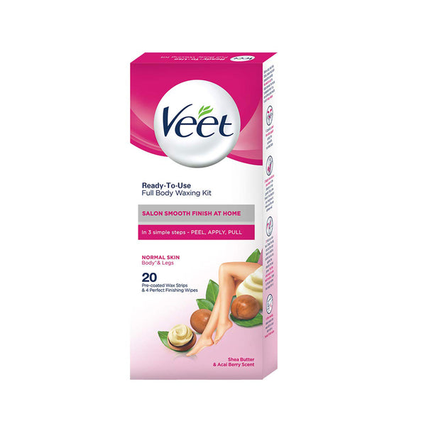 Veet_Full_Body_Waxing_Kit_for_Sensitive_Skin_20 Strips_sri_lanka