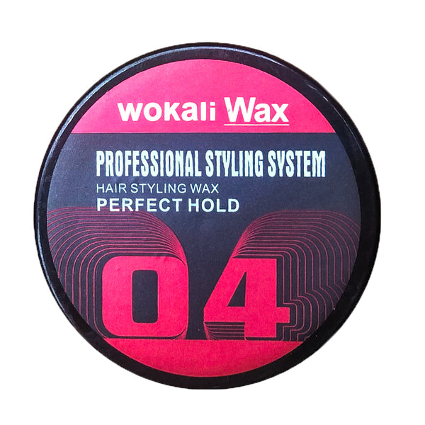 Wokali Wax Hair Styling Wax 04 Hold 150g
