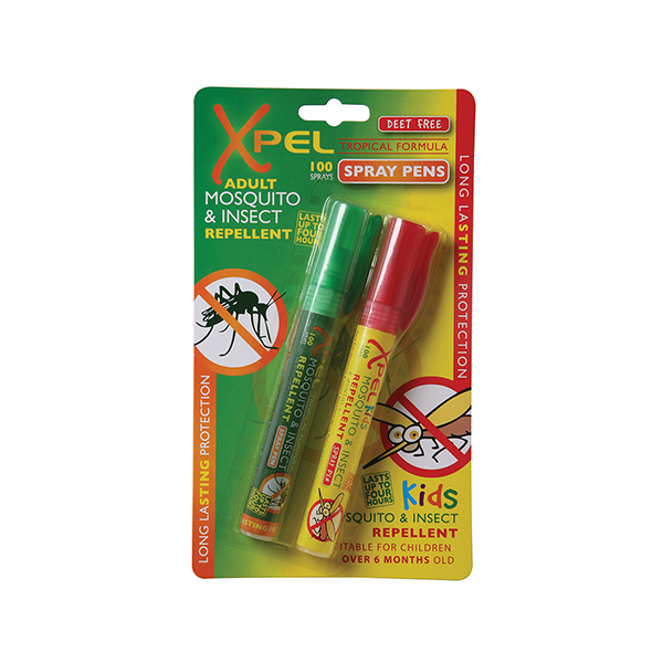 Xpel Adult & Kids Pen Spray Twin Set 2 x 10ml in Sri Lanka