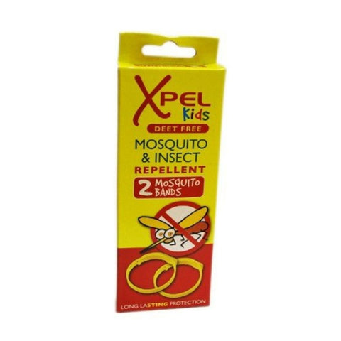 Buy Xpel KIDS  Mosquito & Insect Repellent 2 Mosquito Bands in sri lanka