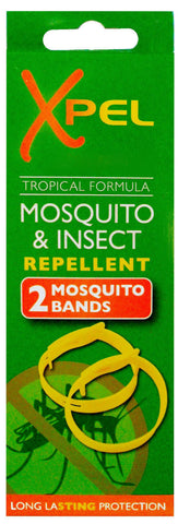 Xpel Mosquito & Insect Repellent 2 Mosquito Bands