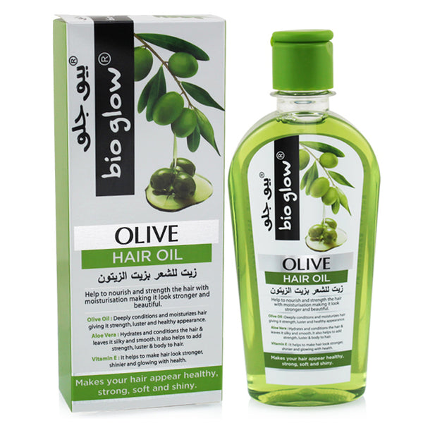 Bio Glow Olive Hair Oil 200ML in srilanka