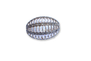 PAVE DIAMOND BEAD