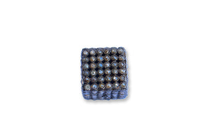 Rose Cut Diamond Square Pave Bead