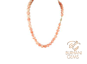 ITALIAN PINK CORAL NECKLACE