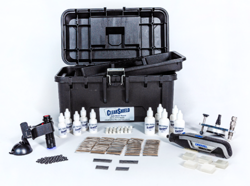Professional Plus Windshield Repair Kit [1,000 Repairs]