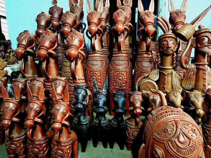 Glory of Mallabhum: Terracotta Horses from Panchmura