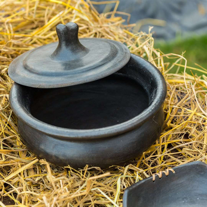 Authentic Manipur Black Pottery from Longpi at its best