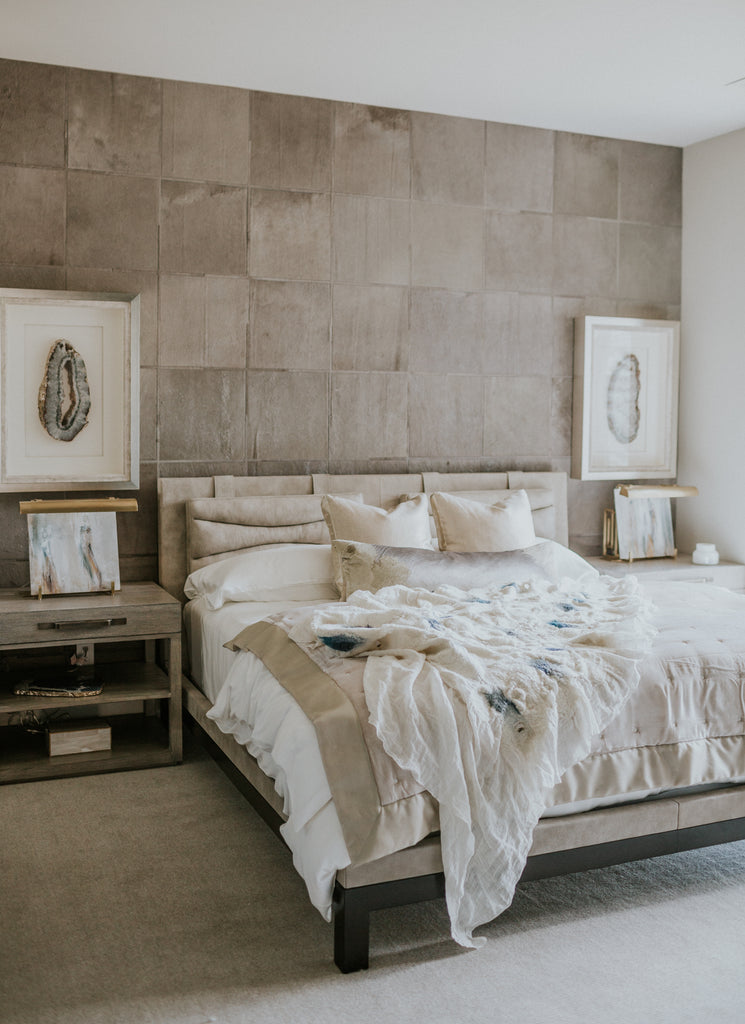 Interior Design Installation by Anne-Marie Barton Designs | Custom Wall Covering