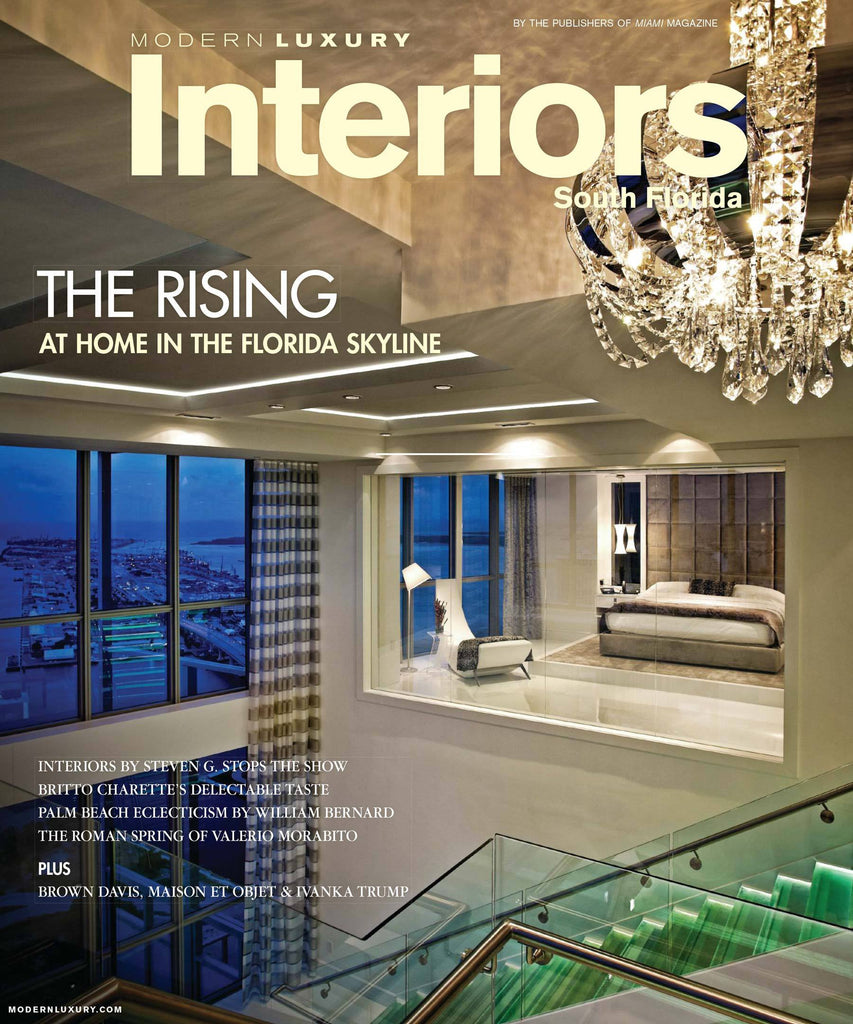 Modern Luxury Interiors | Spring 2014