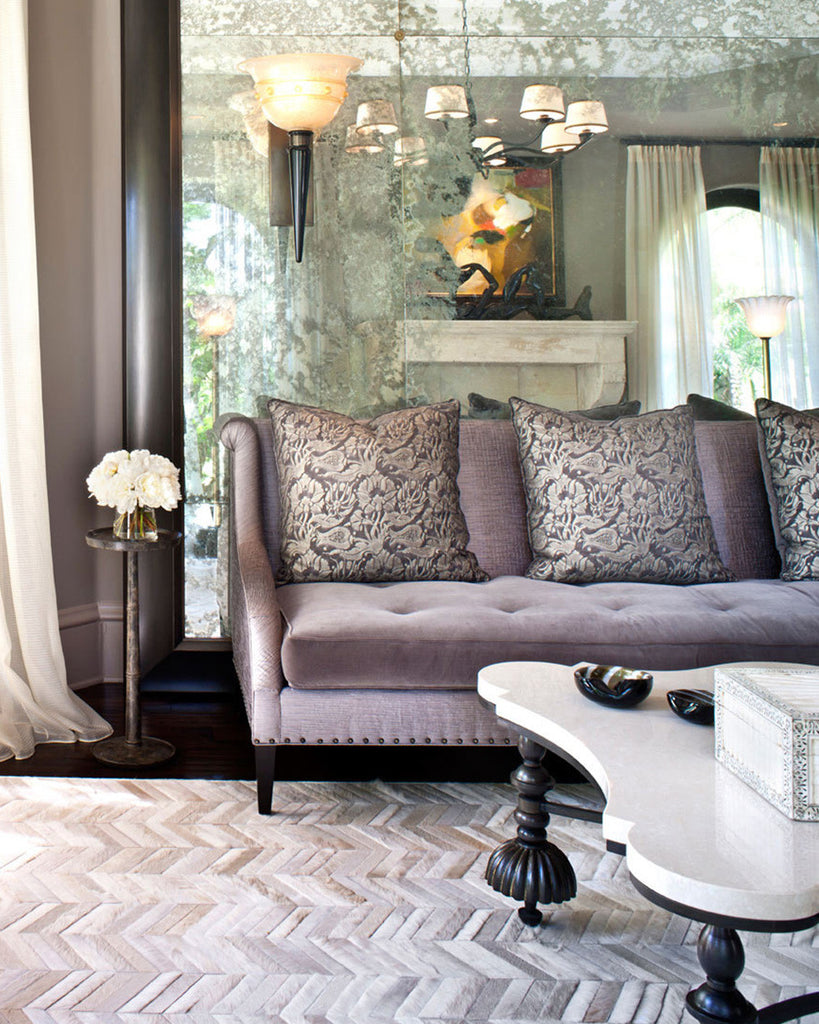 Interior Design Installation by Jeff Andrews Design | Mr Crowley Rug