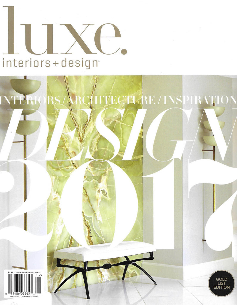 Luxe Interiors + Design | January/February 2017