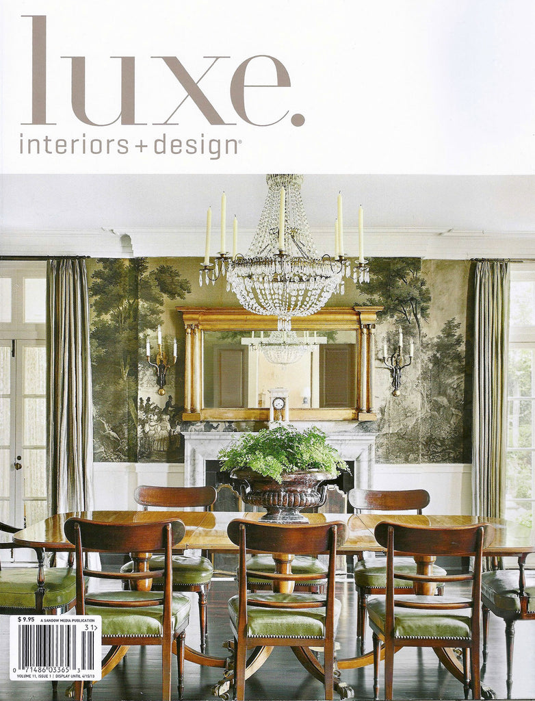 Luxe Interiors + Design | Winter 2013
