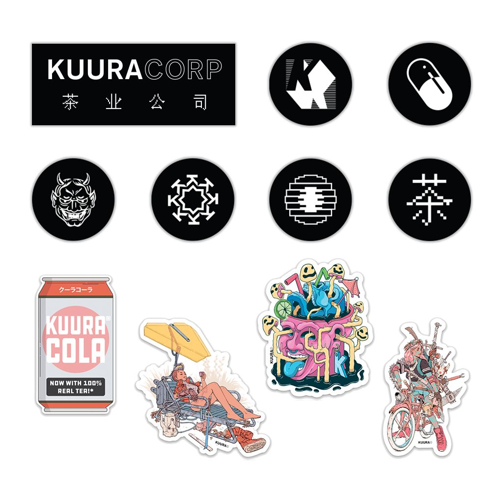 KUURACORP® Sticker Pack