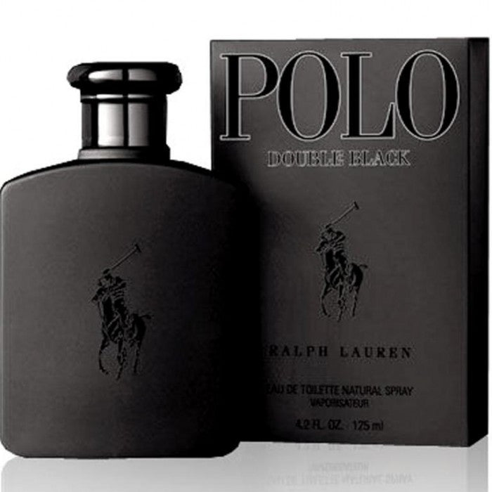 Ralph Lauren Polo Double Black EDT 125ml For Men