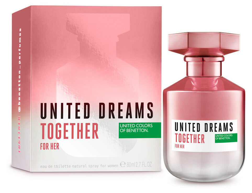 United Dreams Together 80ml EDT for Women by United Colors of Benetton