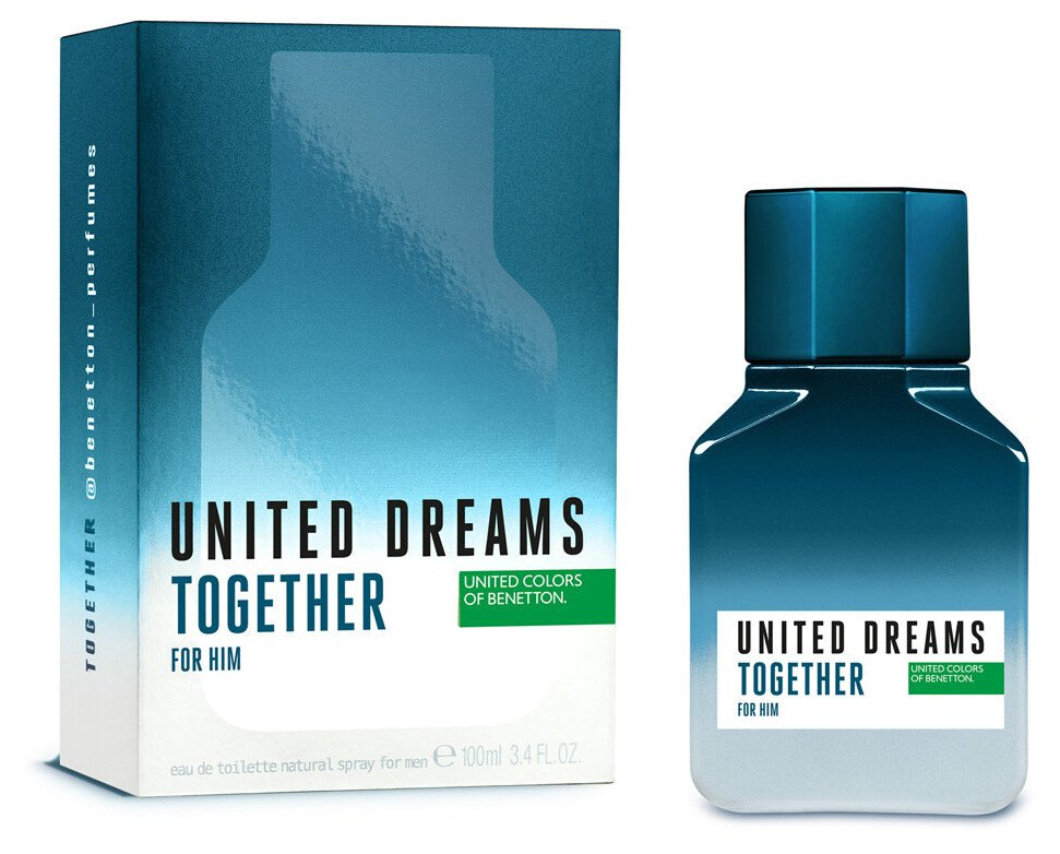 United Dreams Together 100ml EDT for Men by United Colors of Benetton