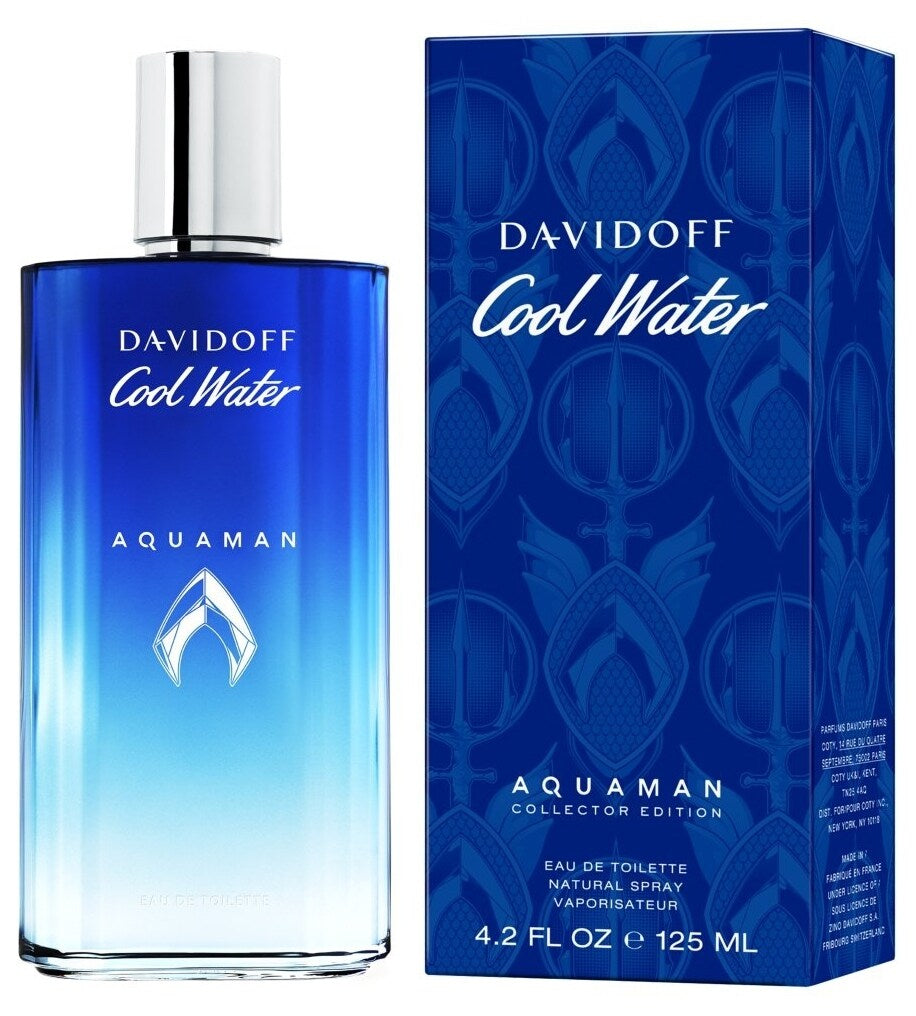 Davidoff Cool Water Aquaman Collector Edition 125ml EDT For Men