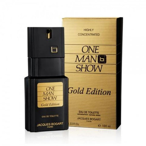 Jacques Bogart One Man Show Gold Edition EDT 100ml For Men
