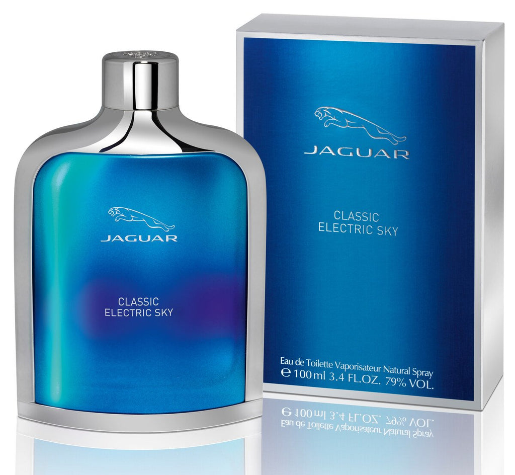 Jaguar Classic Electric Sky 100ml EDT Perfumer for Men
