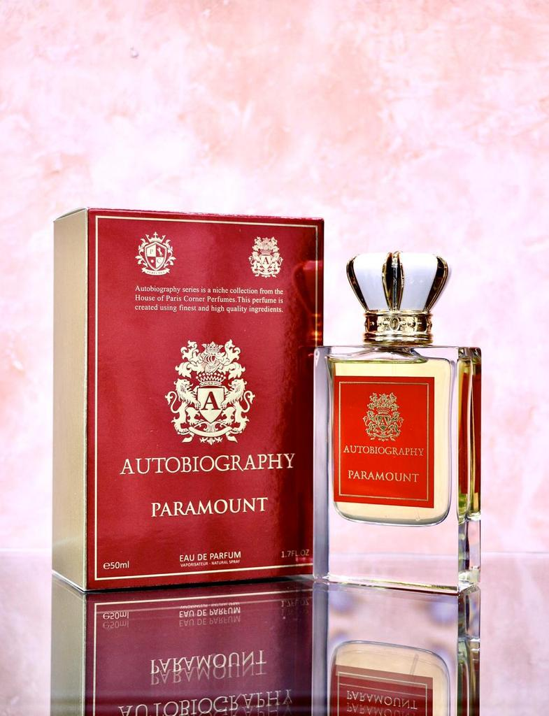 Paris Corner Autobiography Paramount EDP 50ml for Men