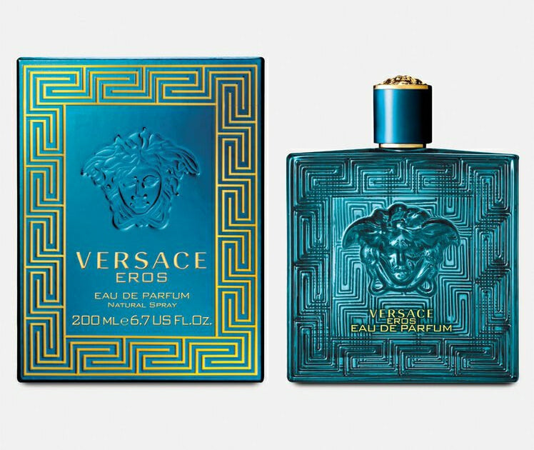 Versace Eros Eau De Parfum 200ml for Men