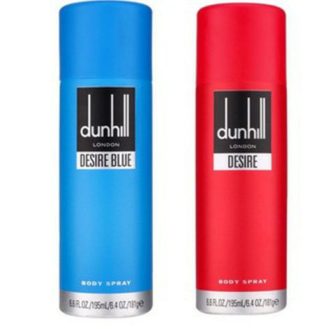 Dunhill Desire Red & Blue Deodorant Combo (Pack of 2)