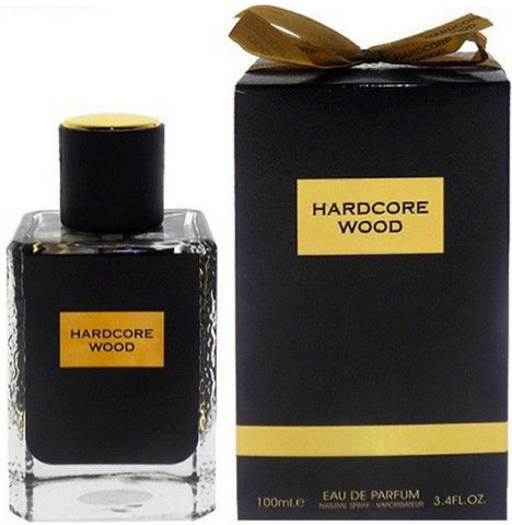 Fragrance World Hardcore Wood 100ml Eau De Parfum for Men