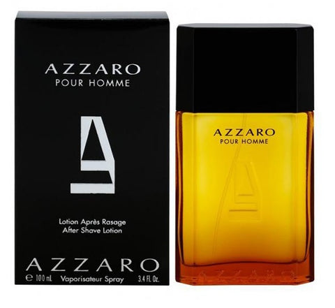 Azzaro Pour Homme After Shave Lotion Spray 100ml for Men