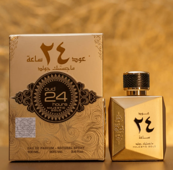 Ard Al Zaafaran Oud 24 Hours Majestic Gold 100ml EDP for Men & Women